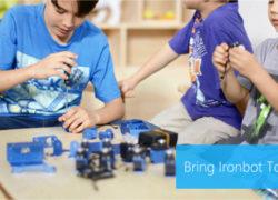 IronBot: A robot your kids can build