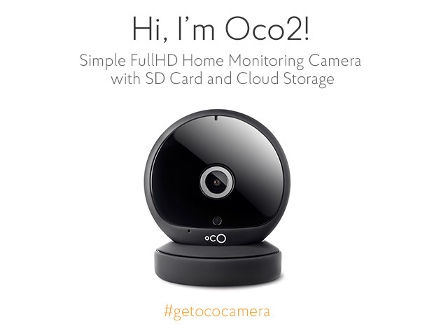 Oco2 Home Monitoring Camera