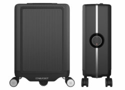 COWAROBOT R1: The smart hands-free carry-on