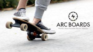 Arc boards on Techstartups