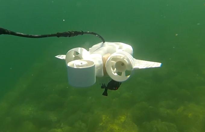 Fathom one underwater drones