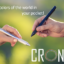 CRONZY Pen: Smart pen for drawing and writing with any color