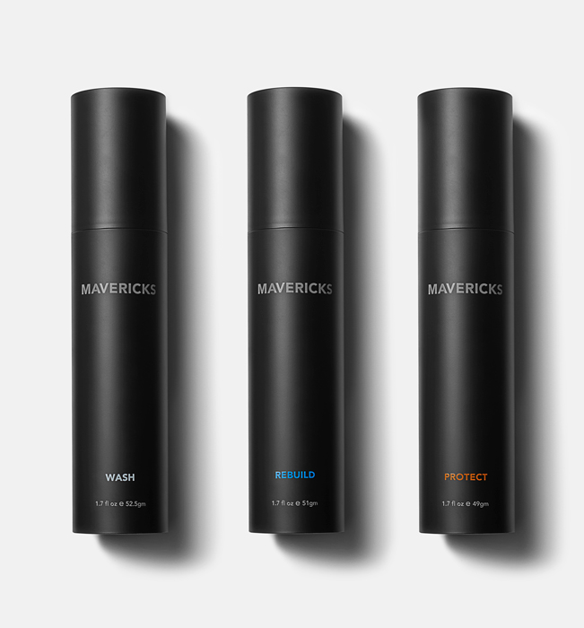 Mavericks skin care