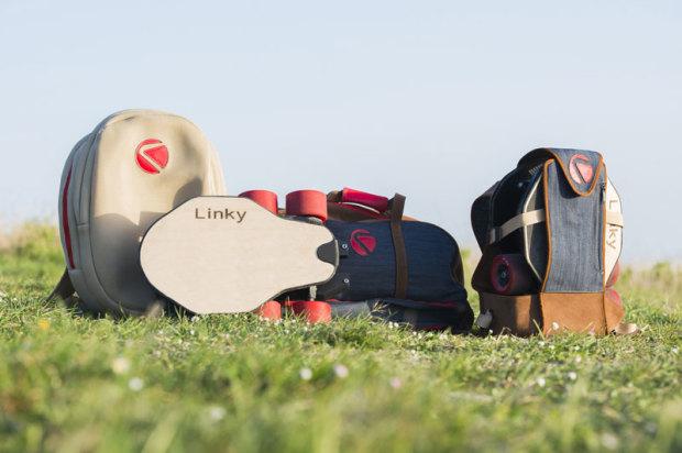 Linky longboard