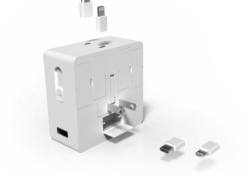 ChargEST: Most compact travel adapter