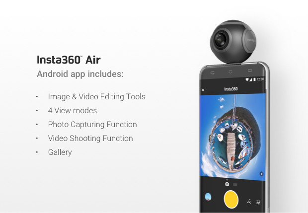 Insta360 Air 360-Degree Camera