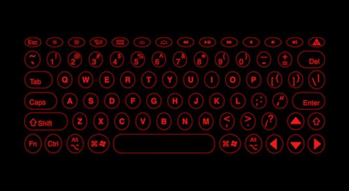 iKeybo laser keyboard