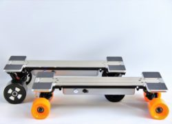 I-Ride: It's the future of electric skateboards, today