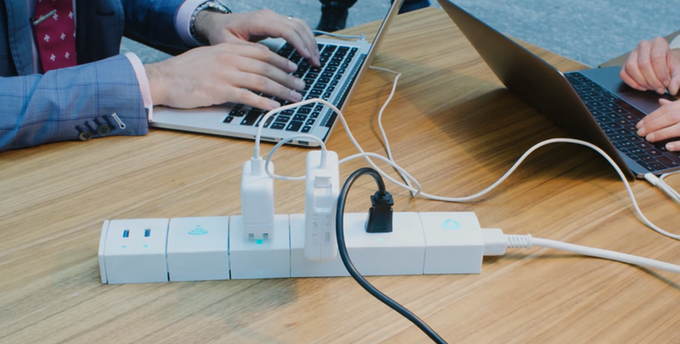 KnittBar: The Truly Connected Smart Power Bar