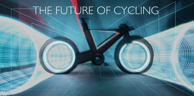 The Cyclotron Bike: Revolutionary bike from the future