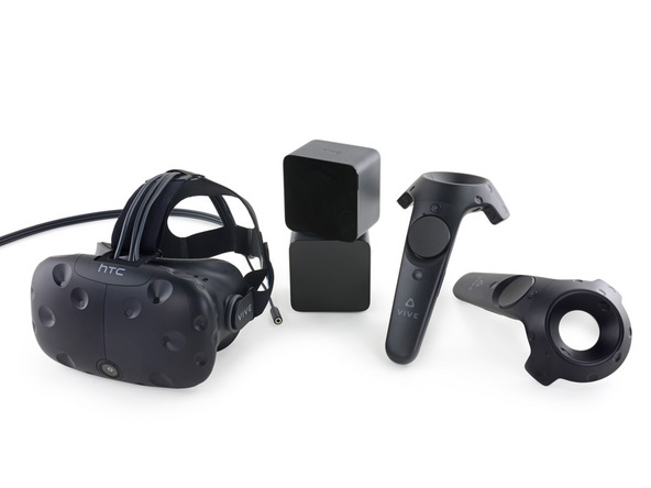 HTC Vive: Brings high-end VR to your room