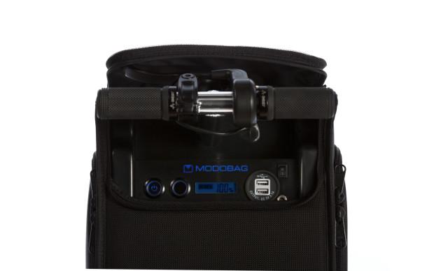 Modobag: Motorized smart luggage
