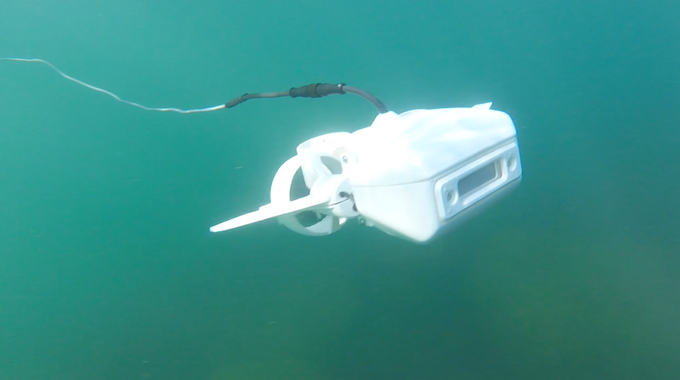 Fathom One: Small yet smart underwater drone