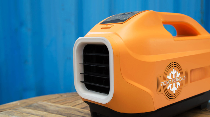 Zero Breeze: Bring the heat down anywhere