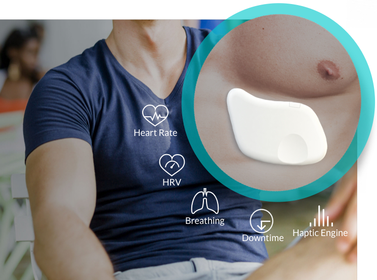 Lief: Smart anti-stress patch