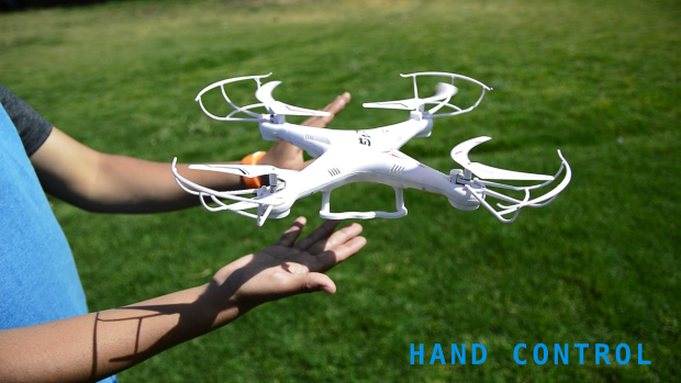 Handrone: Gesture-controlled drone