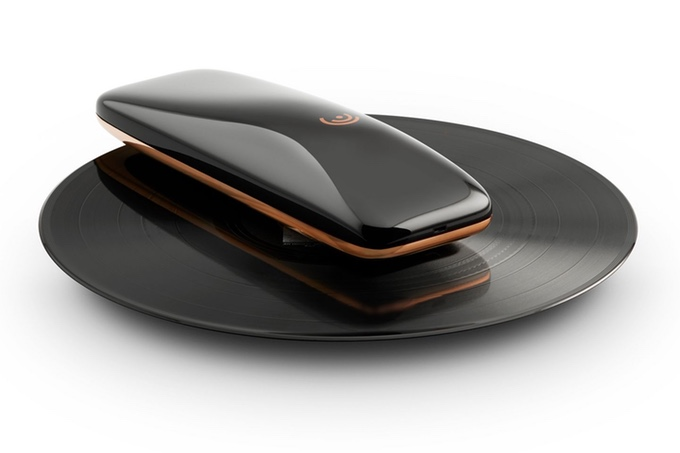 LOVE: Smart, high-end portable turntable