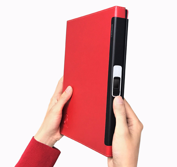 Lockbook: Secure your notes with your fingerprint