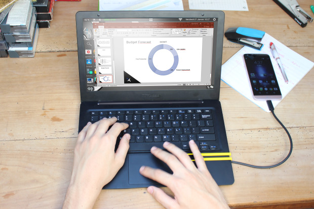 Mirabook: Powerful productivity with your smartphone