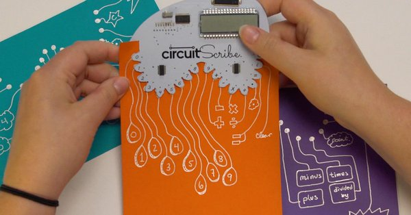 Circuit Scribe: Doodle your circuits the way you like it