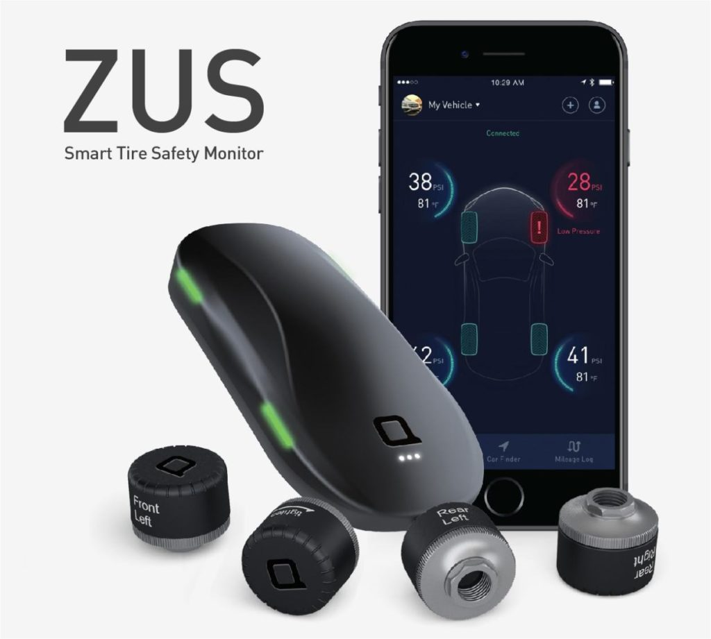 ZUS Smart Tire Monitor: Keep your tires always in check