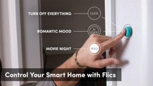 Flic Hub buttons