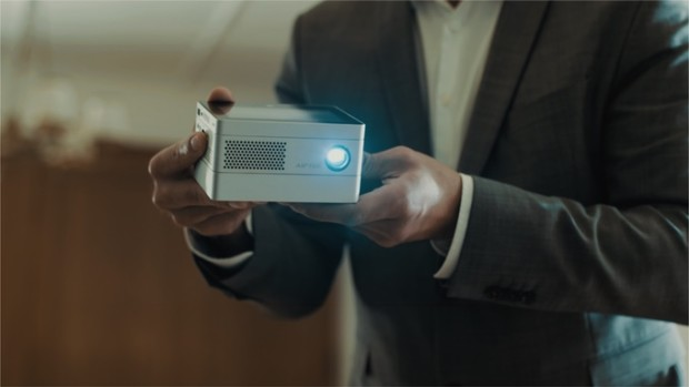 iBeamBLOCK: Smart compact modular projector