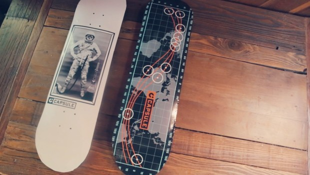 Capsule Skateboard: The most durable skateboard deck ever