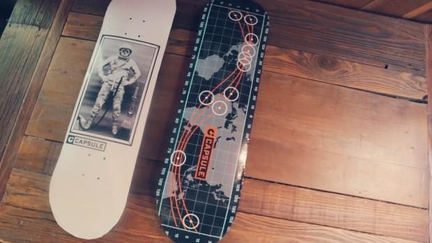 Capsule Skateboard: The most durable skateboard deck ever