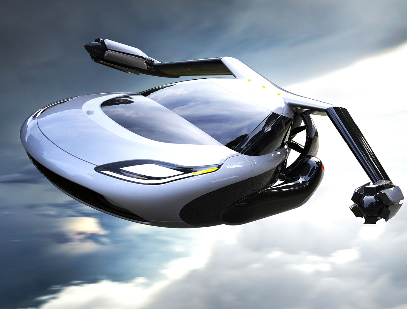 "Geely, Volvo's parent company acquires a ""flying car"" startup Terrafugia"