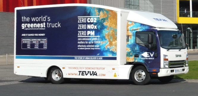 Is Teeva the world's greenest truck?