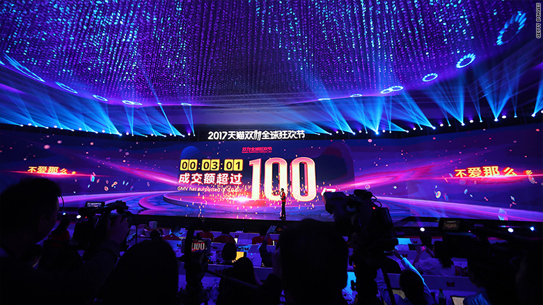 Alibaba made $1 billion in sales in first 2 minutes of Singles Day