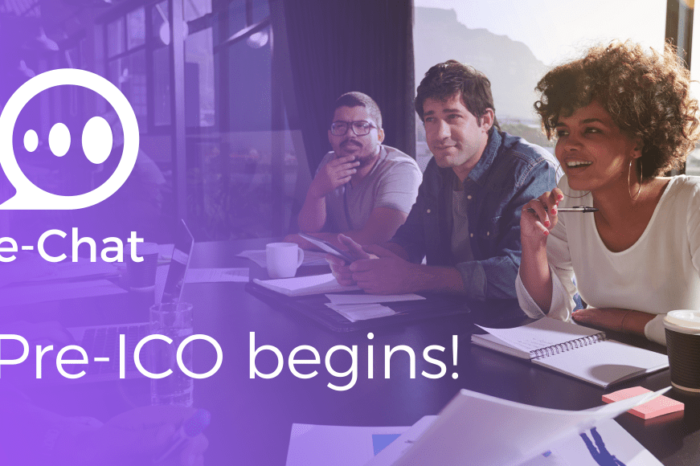e-Chat announced the first stage of ICO