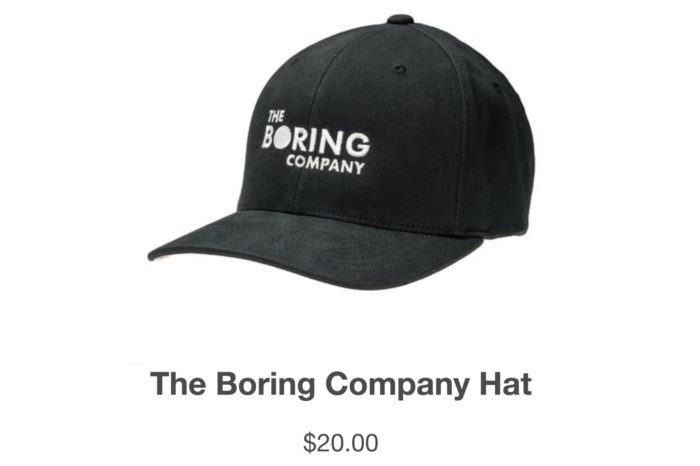 Elon Musk's Boring startup made $300,000 selling hats
