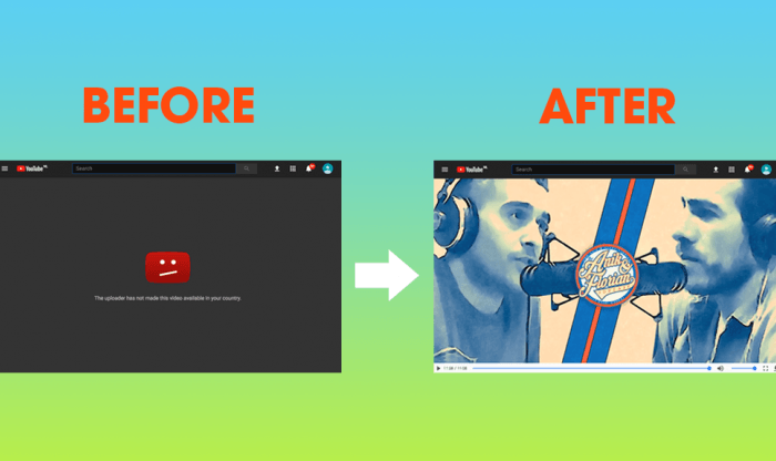 A free Chrome extension lets you watch geo-blocked videos on YouTube