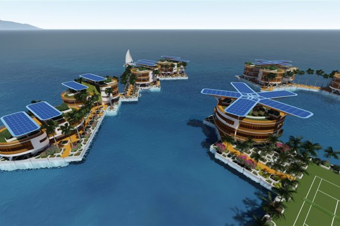 PayPal founder Peter Thiel is developing the world's first floating city
