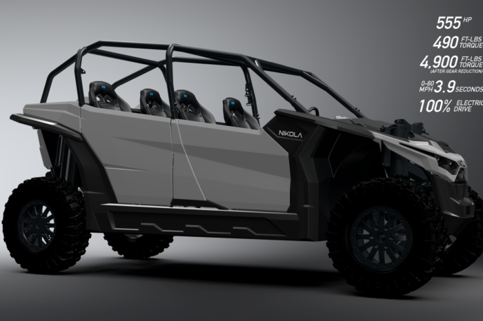 This unknown startup develops electric UTV with more energy capacity than the most powerful Tesla