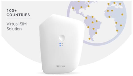 Nommi: The world's first mobile router with 4G hotspot and unlimited Wi-Fi worldwide
