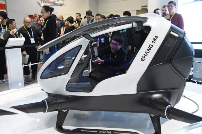 This Chinese startup wants to shorten your commute time to work with TaxiDrone