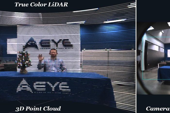 Aeye introduces groundbreaking iDAR technology –  intelligent solid-state LiDAR delivers unprecedented advance in perception and motion planning for autonomous vehicles