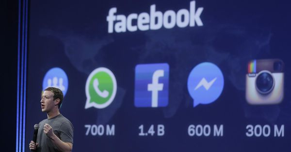 Facebook CEO Mark Zuckerberg: People are spending 50 million fewer hours on Facebook a day; shares fall