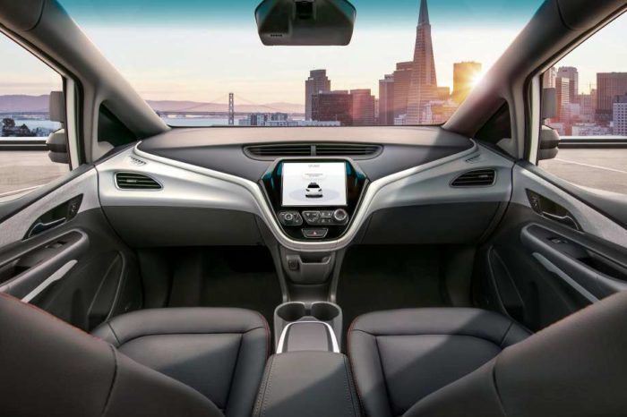 Look, no steering wheel! General Motors is launching Robocars without steering wheels next year