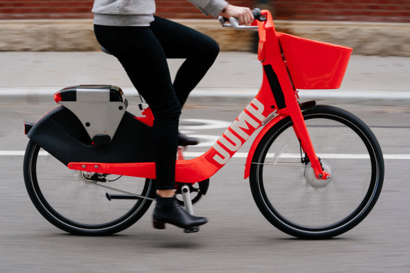 Uber is jumping on the dockless bike-share bandwagon with JUMP Bikes