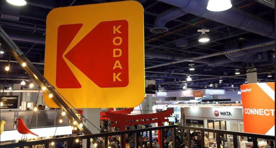Kodak inventory soar after KodakCoin announcement