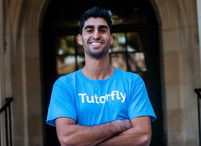 Tutorfly is a startup founded by a student to facilitate peer-to-peer tutoring