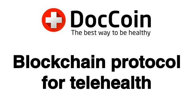 DocCoin announces Pre-ICO for Blockchain based telehealth