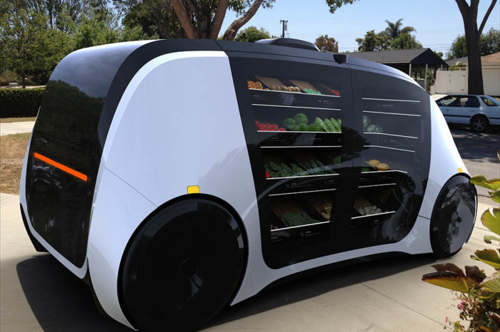 This startup is launching the world's first autonomous mobile grocery store