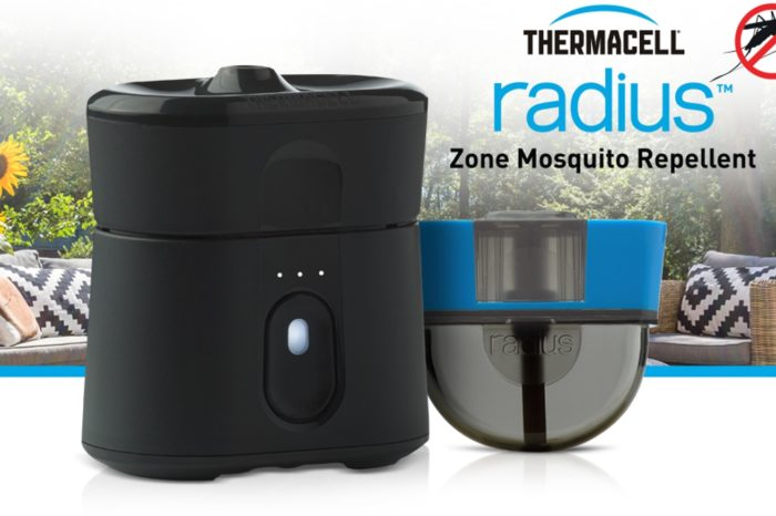 Meet Radius: The world's first rechargeable smart device, EPA-approved, zone mosquito repellent without spray