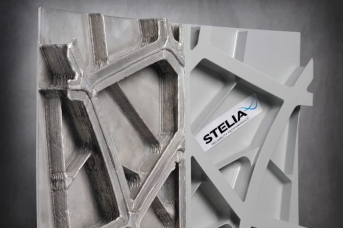 French startup Stelia Aerospace engineers additive manufacturing to deliver the world's first self-reinforced fuselage panel