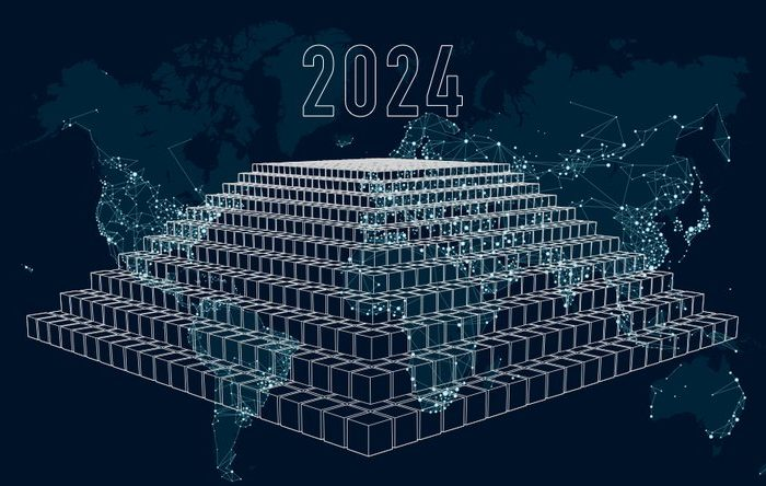 Global blockchain technology market to reach $60.7 billion in 2024